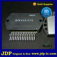 Thick-Film Hybrid IC 2-channel class AB audio power IC, 60W+60W stk433-070