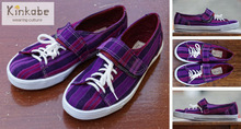 Handmade casual shoe from Guatemala - Chapulin rubber sole