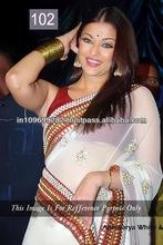 Beautiful Indian Wedding Sari New Bollywood Actress Aishwarya Designer Saree