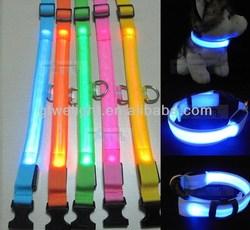 Good quality promotional custom led dog leash