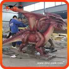 Amusement cartoon dragon from west figure 3m long