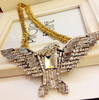 Gorgeous Crystal Eagle Necklace Wholesale Pendant Charms