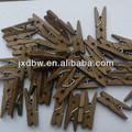 ouro colorido mini roupas cavilhas de madeira artesanato clothespins