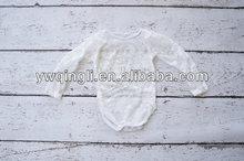 venta al por mayor de ropa para bebés boutique infantil para bebés leotardo de encaje bebé niñas encaje camisa de manga larga lindo niños mameluco del cordón traje de cuerpo