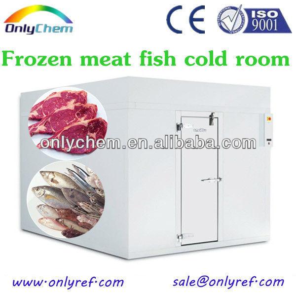 high quality supermarket walk in frozen beef cold storage room chest freezer for sale