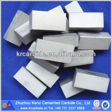 Hard alloy brazed tips from Zhuzhou professional manufacturer