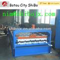 Bestseller farbe stahl/verzinkt beton dachsteinmaschinen maschinen für nigeria Kunden, profiliermaschine