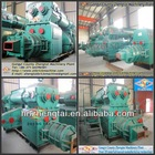 manual roof tile making machine/auto clay red brick making machine/block making machine supplier in South africa