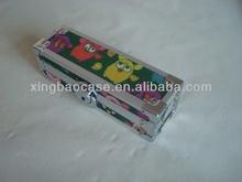 wood pen case with Aluminum frame XB-QP015