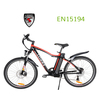 Ezee 26 inch li-ion battery strong electric hybrid bicycle with EN15194