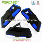 Heavy duty cell phone case for motorola xt1032