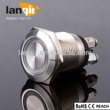 Illuminated and Non-illuminiated metal 110v pilot lamp