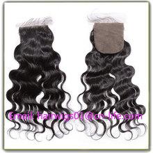 Natural Part Closure Virgin Hair Silk Base Free Part Closure