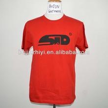 Guangzhou factory custom cotton men promotion t shirt