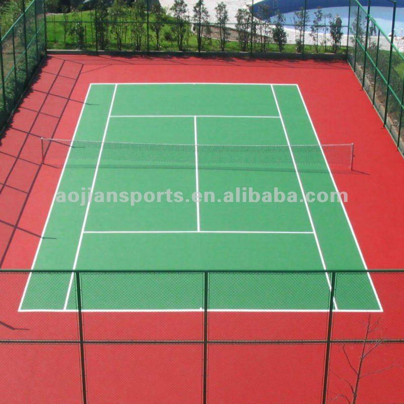 tennis court basketball floor artificial grass