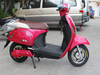 2013 newest beautiful appearance electric motorcycle with hide battery
