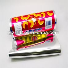 Bopp Film / High Quality Wrap Plastic Film Roll / Laminated Film, High Quality Metallized Bopp Film