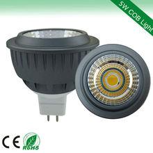 superior TUV CE 5w cob spots 2700k 400lm 50*55mm led halogen