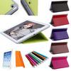 Tri-Fold Ultra Slim Magentic Folio PU Leather Stand Cover Case for iPad Air