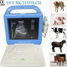 Digital LCD Veterinary Laptop Ultrasound Scanner for cat--- XK21355LCDVET