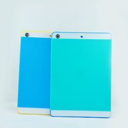 2014 New Products 2 in 1 PC+Silicon Shinny NX Protective Case for iPad Air 5 with credit card slot