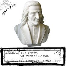 Classical man roman stone bust