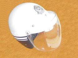 motorcycle helmet with sun visor