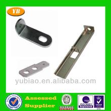 Black galvanized corner fastener stamping parts