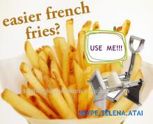 Manual de batata doce frita que faz a máquina