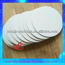 corrugated cardboard white round cake boards cake circles