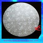 round silver mdf boards cake boards cake base