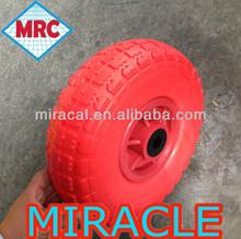 MRC 10 inch Diameter Polyethylene Plastic Wheel