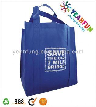 Elegant shopping bag for six bottles