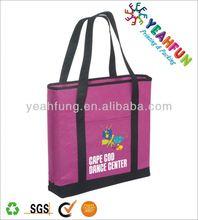 Lead free waterproof foldable shopping bag