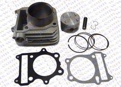 78mm 18mm Cylinder Piston Ring Gasket Kit GN300 300CC Loncin Dirt Bike Pit Bike ATV Parts