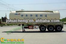 2014 HOT! 45000L carbon steel fuel tank truck semi trailer with best price