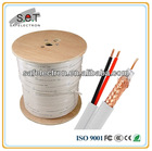 BNC+DC cable,rg59+2c power cable,security siamese cable witn CE CERTIFICATE