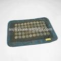 Jiwan cuello masaje almohada cubierta, piedras de jade natural, 40*27cm