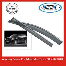 Auto Accessory Chrome Trim Sun Visor FOR MERCEDES BENZ GL450 WINDOW VISOR
