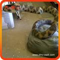Aritificial animal rattle snake 2 metros largo
