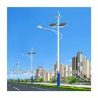 2014 hot sell MEANWELL and USA Bridgelux 20w-98w solar galvanized steel street lighting columns