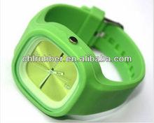 silicone active sport watch bracelet