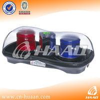 Red/Blue Xenon Mini lightbar indicator light