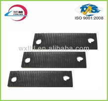 Rail rubber cushion pad for railway