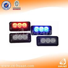 police vehicle warning 12v led deck lights