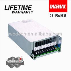 12v 41.5a 500w mini digital panel meter high-efficiency led light driver digital voltage meter