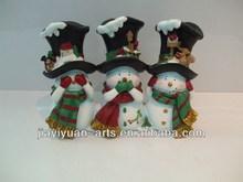 2014 gift snowman resin christmas ornament