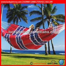double size portable mexican hammocks with fringe/tassel garden swing bed