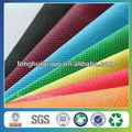 Chino 100% de polipropileno no tejido bolsa de tela de color diferentes