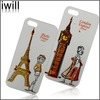 2014 fancy cell phone case for iphone 5s case with 3d flip effect